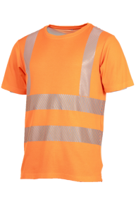 Cool-T-Shirt EN ISO 20471, orange, S-3XL