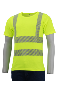 Cool-T-Shirt EN ISO 20471, gelb, S-3XL