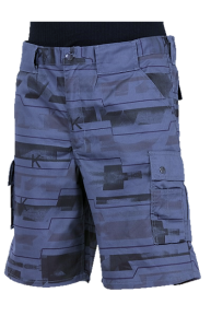 Trophy-Kinder-Shorts, blau-mix, 2-16 Jahre