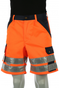Signal-Shorts, orange-navy, 36-64