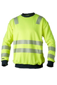 Top Swede Signal Pullover, gelb-navy, S-3XL