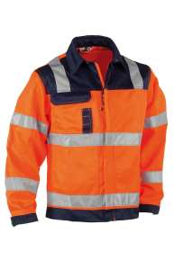 HEROCK Hydros Jacke, orange-navy, S-3XL