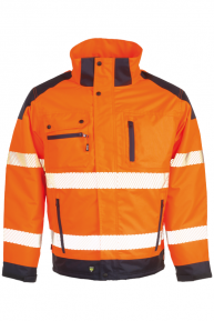 HEROCK Hodor Jacke, orange-navy, S-3XL